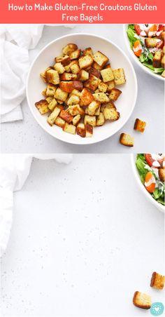 How to Make Gluten-Free Croutons Gluten Free Bagels #How #Make #Gluten-Free #Croutons #Gluten #Free #Bagels Gluten Free Croutons Recipe, Gluten Free Bagels, Crouton Recipes, Gf Recipes, Beef Recipes For Dinner, Paleo Dinner, Healthy Casserole Recipes, Healthy Recipes, Healthy Food