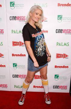 holly madison tube socks