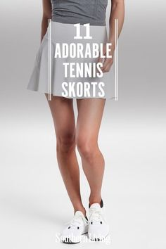 It doesn't get any more classic than white and a silhouette that's just a little bit flared out. #tennisskorts #tennisskirts #southernstyle #southernliving