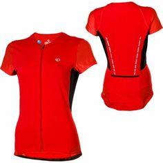 Pearl Izumi Women's Pro Leader Jersey,True Red/Black,Medium - http://ridingjerseys.com/pearl-izumi-womens-pro-leader-jerseytrue-redblackmedium/