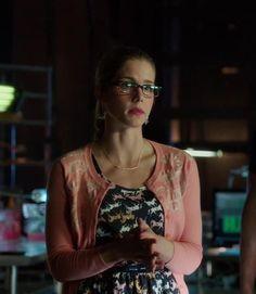 "Felicity's Anthropologie Petaluma Peep Hem Dress Arrow Season 1, Episode 23: ""Sacrifice"" - Spotted on TV"