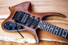 Claro Walnut Guitar Body