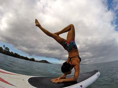 You can do it!!! Active wear , hookipa bikini top, yoga hot shorts , makena surf wear , maui , sup yoga