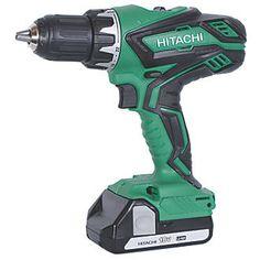 Hitachi DV18DGL/JG 18V 2.5Ah Li-Ion Cordless Combi Drill | Combi Drills | Screwfix.com