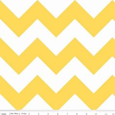 Riley Blake Designs - Chevron - Large Chevron in Yellow. Hawthorn Threads (website)