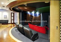 Rosalie Home Theatre | Interior Design | dion seminara architecture