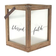 Family Sentiment Shabby Chic Tea Light Holder With verse 51584
