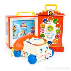 FISHER-PRICE CLASSICS---Our children spent hours playing with these, then our grandchildren.