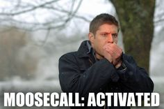 OMG. Moosecall. THIS IS PERFECT. #Supernatural