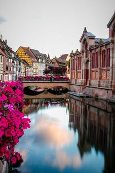 """Colmar, France Fabulous memories coming via Alsace from Hamburg, en route to """"somewhere"""" Spain. Would like to go back before it is over..."""