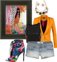 """""""Colorful"""" by fashionista-shawnte on Polyvore"""