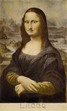 LHOOQ, Marcel Duchamp.