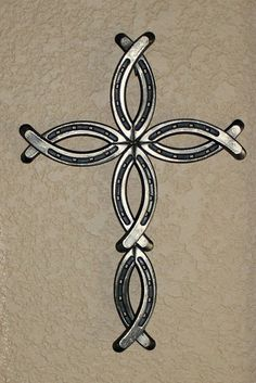 Image result for crosses made out of horseshoes
