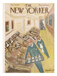 The New Yorker Cover - May 10, 1947 Poster Print  by Ludwig Bemelmans at the Condé Nast Collection
