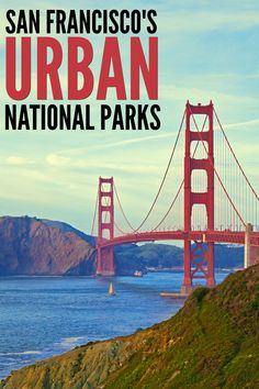 A guide to San Francisco's Urban National Parks! Get off-the-beaten path in the big city! Visiting Urban National Parks is great way to see some of San Francisco's best features - even on a budget! Travel With Kids, Family Travel, California Activities, Family Vacation Destinations, Family Vacations, Travel Destinations, Vacations In The Us, California Travel, Travel Usa