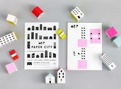 Paper City Advent Calendar - Moon Picnic