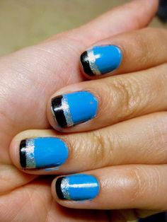 Great for all ladies who love the Carolina Panthers. No, they aren't my favorite team, but I love this color combo. :)