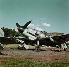 Messerschmitt Bf 109 G-6 of I./JG 3 in May 1943.