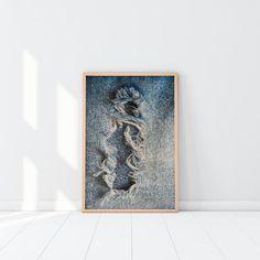 Torn Blue Jeans - Printable Art #instantdownload #print #digitalfile #printableart #walldecor #modern #artandcollectibles #ikeasize #denim #jeans #torn #blue #washed