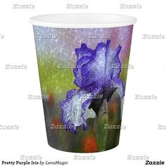 Pretty Purple Iris Paper Cup. Paper CupsPaper PlatesPurple ...  sc 1 st  Pinterest & Sweetie Pie Sheep Paper Cup | Paper Plates and Napkins | Pinterest