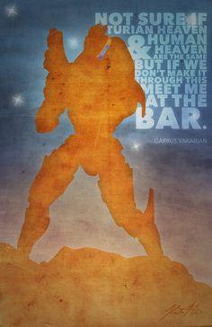 Mass Effect Posters - Garrus by A-negative on deviantART