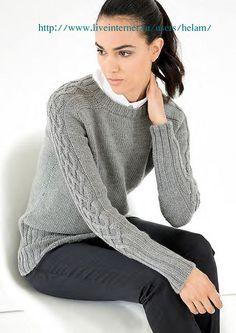 Серый пуловер из Filati!. Обсуждение на LiveInternet - Российский Сервис Онлайн-Дневников