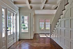 Rustic Entryway Flooring Idea