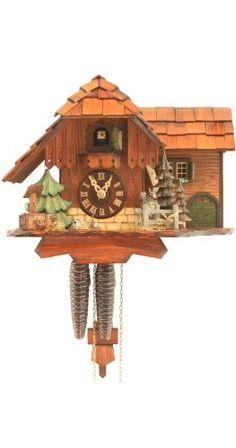 Cuckoo Clock Jumping Squirrel