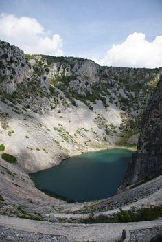 The Blue Lake, Imotski
