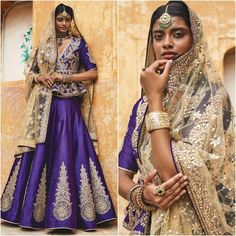 How stunning is too stunning? we love the colour on this beautiful model! Indian Bridal Wear, Indian Wedding Outfits, Indian Wear, Indian Outfits, Pakistani Dresses, Indian Dresses, Classy Outfits For Women, Asian Fashion, Style Fashion