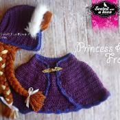 Princess Anna Set CROCHET PATTERN - via @Craftsy