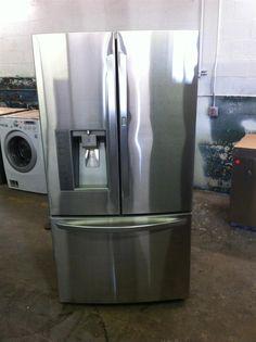 New LG Super Capacity 30.7 cu. ft. French Door Refrigerator in Stainless Steel Door In Door Design