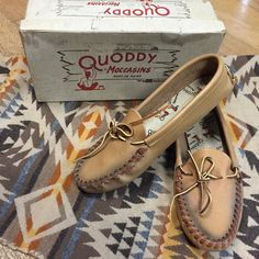 Sundays are for staying cozy. And we've got these 60s handmade #Quoddy moccasins in their original box to help you with that. Women's size 9 $46 in the Ballard shop. We're happy to shop anywhere too! Just DM or comment with your email and post code.  #vintage #vintagemoccasins #moccasins #lazysunday #60s