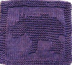 Knitting Cloth Pattern   BABY HIPPO  PFD by ezcareknits on Etsy, $2.85