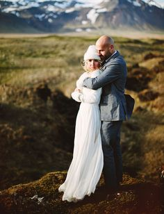 Iceland bride + groom