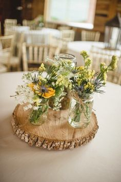 lavender wedding flowers table decoration - Google Search
