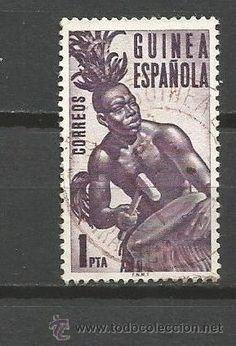 Sellos: GUINEA ESPAÑOLA EDIFIL NUM. 328 USADO - Foto 1 - 51427698