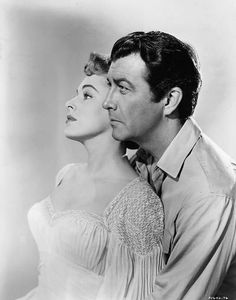 Eleanor Parker and Robert Taylor in ABOVE AND BEYOD (1952) | Warner Archive