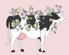 New post on pure-as-the-lilies - Illustration - Vegan Et Wallpaper, Wallpaper Quotes, Vegan Art, Vegan Food, Vegan Quotes, Vegetarian Quotes, Cow Art, Vegan Animals, Animal Tattoos