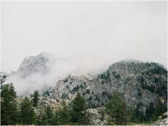 The Mountains of Jackson Hole. Stunning, rural, mountains. Photographed on film by Ashlee Mintz Photography.