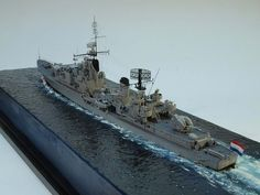 Scale Model Ships, Scale Models, Model Warships, Water Effect, Adventure Of The Seas, Boat Art, Military Diorama, Nautical Art, Model Building