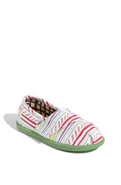 New TOMS 'Iken' Slip-On for Miss Emma from the Easter Bunny...it's been very hard to wait to give her these but I think I do it, just another week....