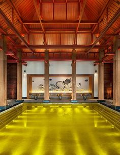Pin By Chen On Yabu Pinterest - 15 of the best indoor hotel pools in the world