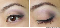 Defining the outer V---eyeshadow contouring