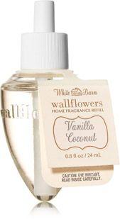 Vanilla Coconut Wallflowers Fragrance Refill - Home Fragrance - Bath & Body Works