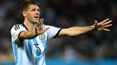 2014 FIFA World Cup™ - Photos - FIFA.com  Martin Demichelis of Argentina reacts