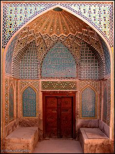 Aghanoor Great Mosque - Isfahan - Iran (Safavid)