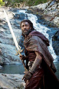 "diana-prince: ""Idris Elba as Heimdall in Thor: Ragnarok (2017) """