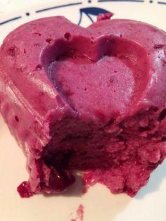 Meggyes kókuszpuding ~ Gyümölcspuding • Ketogén Paleo Receptek Paleo Sweets, Ice Cream, Keto, Desserts, Food, No Churn Ice Cream, Tailgate Desserts, Deserts, Icecream Craft