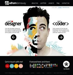 Portfolio of Adham Dannaway - Want to create your own web portfolio? Go to http://styleresumes.com
